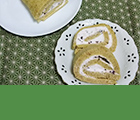 煎茶のロールケーキ