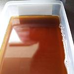 麦茶ゼリーのレシピ01