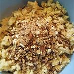 煎茶のカステラボールのレシピ01