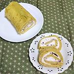 煎茶のロールケーキのレシピ06