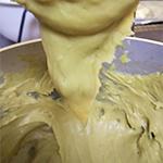 玄米茶のシュークリーム(シュー生地)のレシピ03