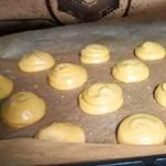 玄米茶のシュークリーム(シュー生地)のレシピ04
